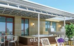 Bespoke New Design Aluminium Canopy, Alfresco, Garden Patio Cover, Veranda Uk