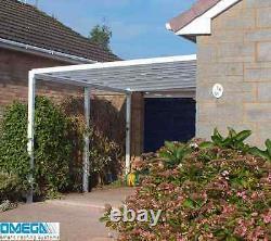 Canopée En Aluminium, Abri D'auto, Patio Ou Couverture Caravaniers 3,5 M 4 M Projection