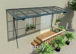 Canopée En Aluminium Robuste Bespoke, Couverture De Patio, Carport, Plongée Vers, Auvent De Porte