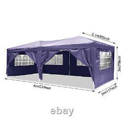 Cobizi 3mx6m Waterproof Garden Gazebo Patio Party Tente Marquee Canopy Heavy Duty