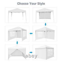 Cobizi 3x6m/3x3m Gazebo Lourd De Service Marquee Garden Party Patio Canopy Pop Up Tent