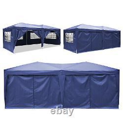 Cobizi 3x6m Jardin Gazebo Party Market Tente Patio Shade Outdoor Sun Blue Canopy