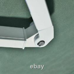 Énorme Auvent Électrique Rétractable 3x2,5m Green Canopy Motorized Patio Cassette Uk
