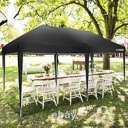 Gazebo Marquee Tente De Fête Avec 6 Côtés Étanche Jardin Patio Extérieur Canopy 3x6m