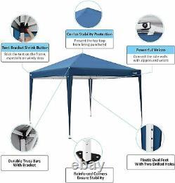 Gazebo Pop Up Tente Forte Imperméable 3x3m Marquee Garden Party Patio Canopy Nouveau