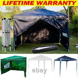 Heavy Duty Gazebo Pop-up Waterproof Marquee Canopy Garden Patio Party Bbq Tent