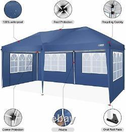 Jardin Étanche Pop Up Gazebo 3x6m Patio Extérieur Coopy Party Tente Avec Les Côtés