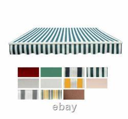 Outsunny Garden Sun Shade Canopy Patio Auvent Retractable Shelter Outdoor 5 Taille